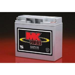 MK 12 Volt Sealed AGM Battery  - Size 17-12