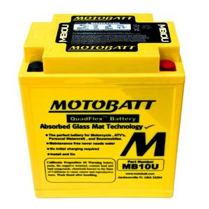MOTOBATT MB10U - 12Volt Absorbed Glass Mat (AGM) Battery