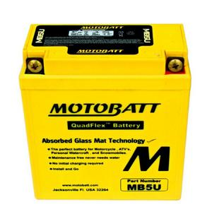 MOTOBATT MB5U - 12Volt Absorbed Glass Mat (AGM) Battery