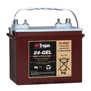 Trojan- 24-GEL: 12V Deep-Cycle GEL Battery), 1,000 CYCLES @ 50% DOD