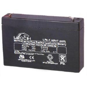LEOCH Sealed AGM 6 Volt Battery - LP6-7T1