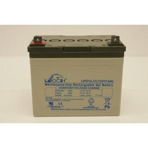 "LEOCH Sealed ""GEL"" 12 Volt Battery - LPG12-31T5"