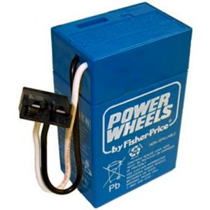 "Power Wheels Toddler 6-Volt ""Blue"" Battery"